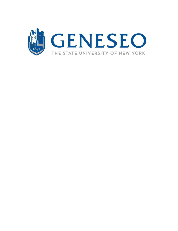 SUNY – Geneseo