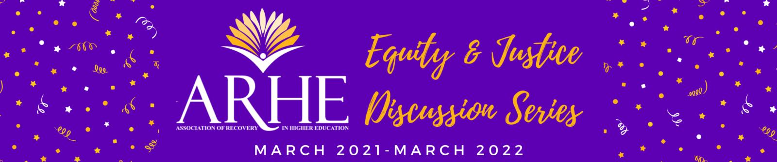 ARHE EJ Webinar Site Banner Discussion Series
