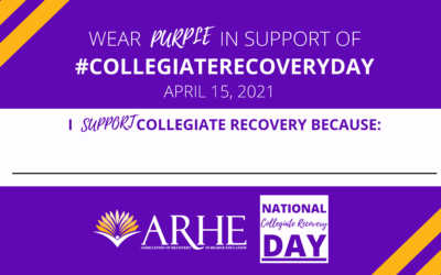 2021 Collegiate Recovery Day: All You Need To Know