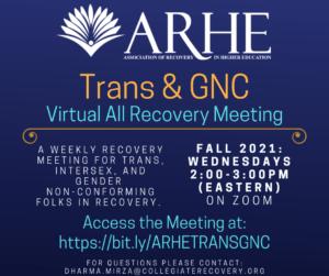 ARHE TGNC Meeting Graphic